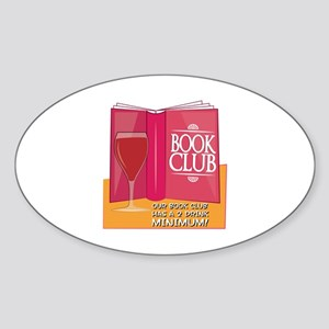Our Book Club Sticker